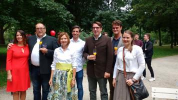 Das Team Regensburg: die Direkt- und Listenkandidat*innen der SPD